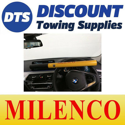 Milenco High Security Anti-Theft Steering Wheel Lock Yellow - 0499