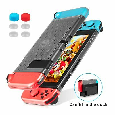 Nintendo Switch Case Clear Cover Silicone Case Anti-Scratch for Nintendo Switch