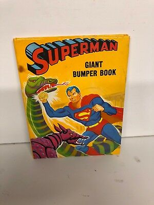Superman Giant Bumper Book