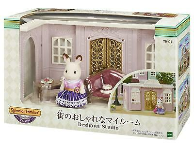 Sylvanian Families WINDOW C GOLD Town Series Fan Club Epoch Calico Critters