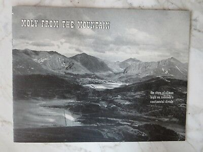 Vintage Moly From The Mountain Climax Mine Colorado Advertising Promo Booklet