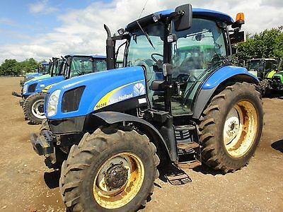 New Holland T6010 - T6070 Tractors - Operators / Maintanance