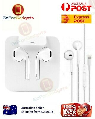 Genuine Apple Earpods Earphones Headphones For iPhone X 8 7 Plus