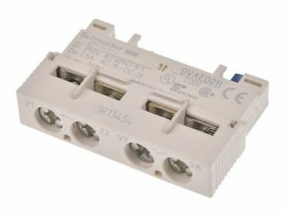 Front Mount Auxiliary Contact Block, NO/NC