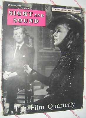SIGHT and SOUND FILM QUARTERLY MAGAZINE SPRING 1959