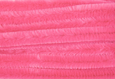 Pale Pink Jumbo Chenille Sticks Pipe Cleaners 12mm x 30cm Trimits Craft 15 Pack