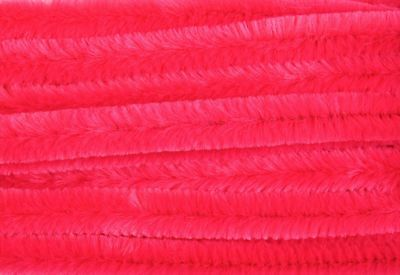 Hot Pink Jumbo Chenille Sticks Pipe Cleaners 12mm x 30cm Trimits Craft 15 Pack