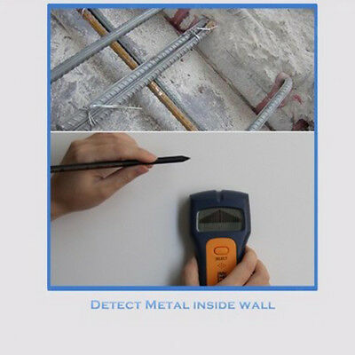 Stud Finder Center-Finding Wood Metal AC Wire Wall Scanning Stud Detector