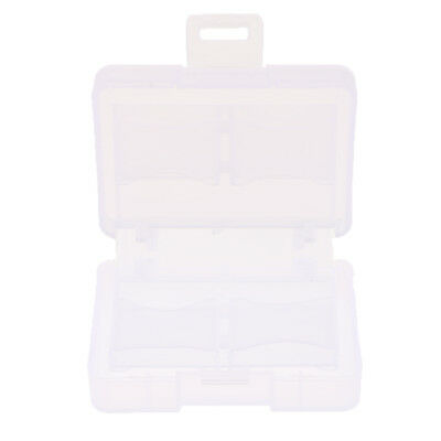 Case Cover Card Holder 8SD Memory Cards Protecter Plastic Transparent Box