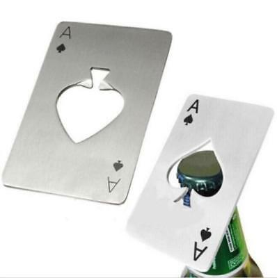 Poker Card Ace Beer Wine Bottle Opener Kitchen Bar Soda Bottle Stainless Steel