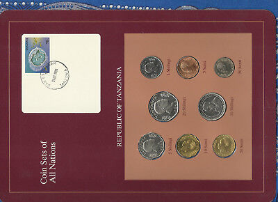 Coin Sets of All Nations Tanzania UNC 1981-1993 20 Shilingi 1992