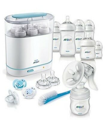 Philips Avent Complete Natural Starter Set - 14 Piece Value Pack -