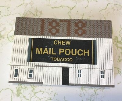 The Cat's Meow Village Chew Mail Pouch Tobacco American Barn Series Ohio