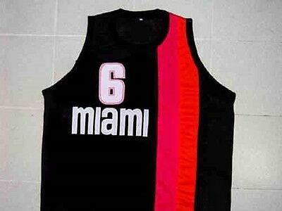708da66bbfb1 Custom Name   Miami Floridians Retro Basketball Jersey New Sewn Any Size