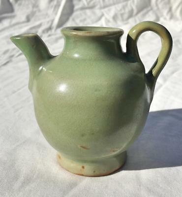 Antique Chinese Longquan Celadon Ware Ewer - Song/Yuan Dynasty (AD 960-1368)