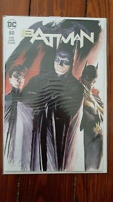 Batman 50 SDCC Wedding Issue Alex Ross Variant Cover A Unsigned