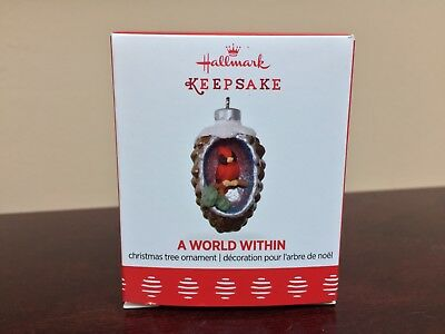 2017 Hallmark Miniature Ornament A World Within  #3 in Series