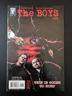 The Boys #1 published by WildStorm - NEW AMAZON SHOW SOON