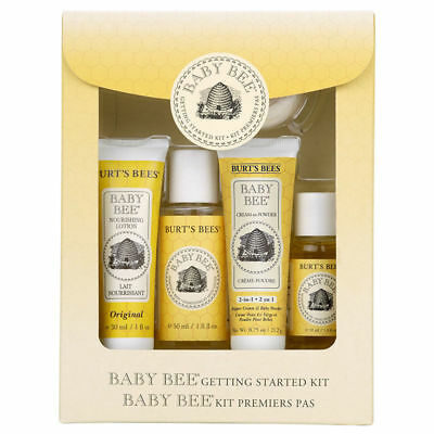 Burt's Bees Baby Bee Getting Started 5-Piece Kit