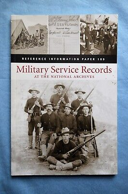 Military Service Records At the National Archives