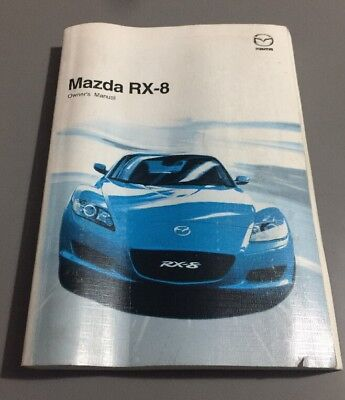 Mazda Rx8 Owners Manual 15 99 Picclick Uk Rh Picclick Co Uk Mazda 6 Owners  Manual