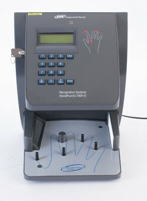 HandPunch 1000-E Biometric Hand Scanner / Pointeuse biométrique / Ethernet