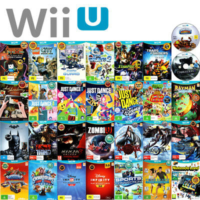 🧐 NINTENDO WII U ●● AWESOME TITLES! **NEW OR NEAR NEW** ●● Your Choice 19/09/18