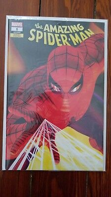 Amazing Spiderman #1 Vol. 5 Alex Ross SDCC 2018 Exclusive Var IN-HAND Unsigned
