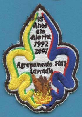 PORTUGAL (CNE scout association) badge / patch. WORTH A LOOK!