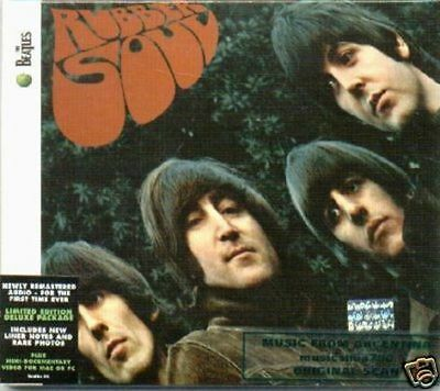 The Beatles Rubber Soul Sealed Cd New 2009 Remastered
