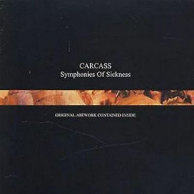 Carcass Symphonies Of Sickness Sealed Cd New