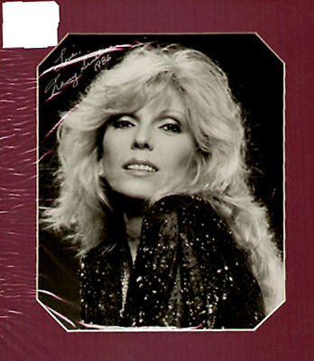 NANCY SINATRA, SIGNED PICTURE in display`UACC RD retirement SALE