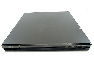 CISCO2901/K9 Integrated Services Router 2GE 512Mb DRAM 256Mb CF w/RMK Scratched