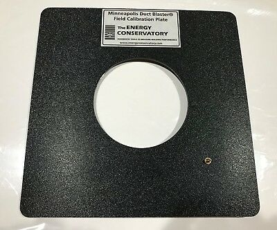 Energy Conservatory Field Calibration Plate