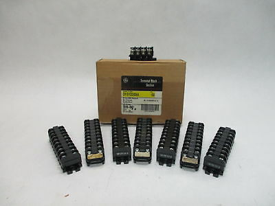 (Lot of 74) GE CR151C0200AA Terminal Block Sectional 30A 300V Max.