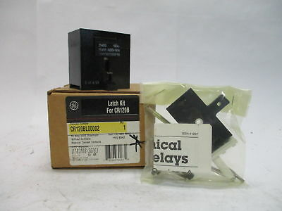 GE CR120NL00022 Series A Industrial Latched Relay without Contacts 115-120V 10A