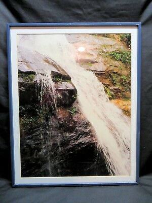 Framed Vintage Original Photo – The Waterfall