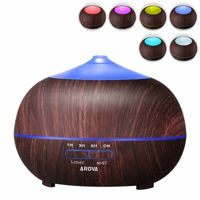 Tenswall 400ml Aromatherapy Essential Oil Diffuser, Cool Mist Air Humidifi..