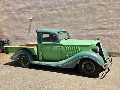 1934 Ford 1/2 Ton Pickup  34 FORD Hudson terraplane pickup truck Chevy 327 auto Ifs power Disc  Hot Rod