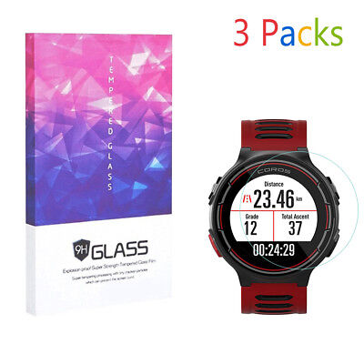 Screen Protector for Coros PACE GPS Sports Watch 9H Hardness Tempered Glass 3pcs