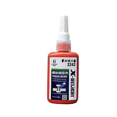 1 x Medium Strength Industrial Liquid Adhesive Locktite For Locking Threads Blue