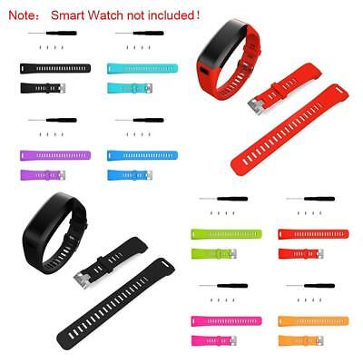 Sport Replacement Silica Gel Watch Band WithTool For Garmin Vivosmart HR Strap
