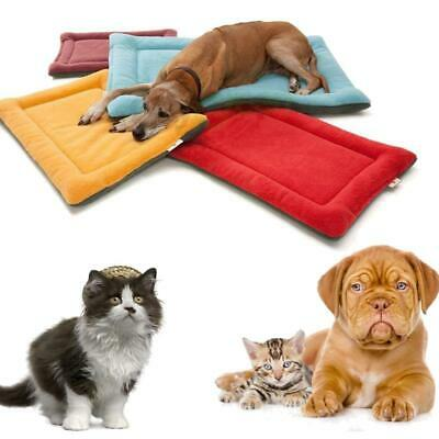 New Small Medium Large Dog Pet Crate Kennel Warm Bed Mat Pad Sleep House 6 Color