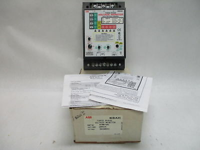 ABB SSAC WVM611AH 3-Phase Voltage Monitor 200-240VAC