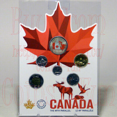 1818-2018 From Far and Wide - 6-coin Set - $2,$1,GLow-In-The-Dark 50c,25c,10c,5c