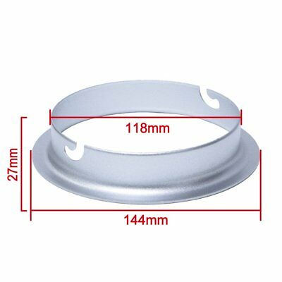 Studio 144mm Diameter Speedring Mount Flange Adapter for Elinchrom Strobe Flash