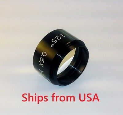 """Multi-Coated 1.25"""" 0.5x Focal Reducer Telescope Eyepiece Free Shipping"""