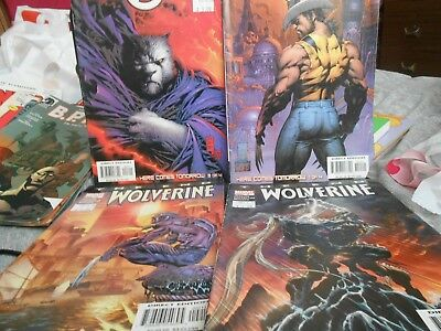 8 X Bulk Mixed Comics The End Wolverine/seekers And More