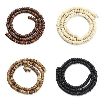 5mm Oblate Wood Beads Jewelry Making Accessories Necklace And Bracelets Bead