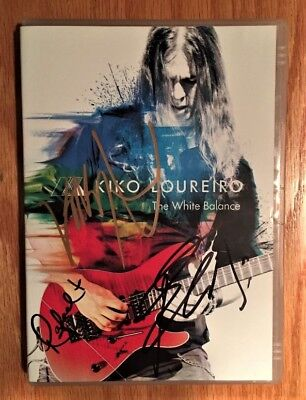 dvd kiko loureiro the white balance